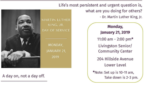 Livingston Community To Participate In Annual Martin Luther King Day
