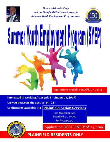 Plainfield Summer Employment Applications Available In April Tapinto