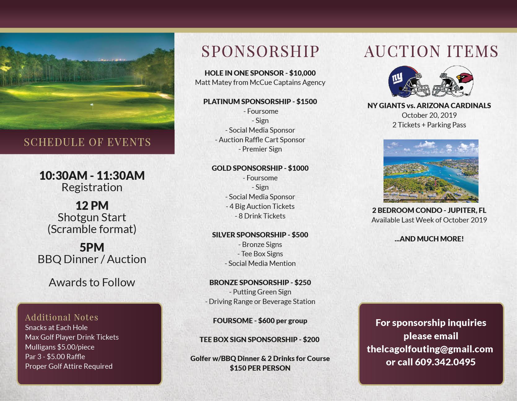 Lighthouse Christian Academy is Hosting Golf Tournament on