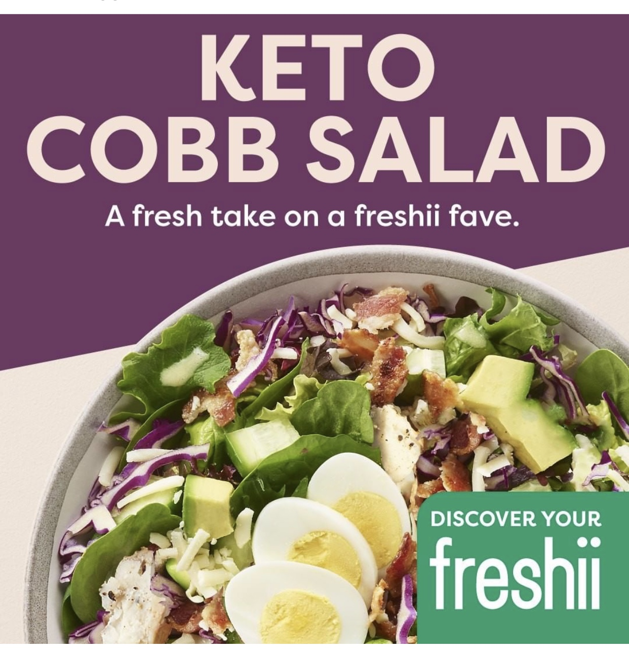 Cravin A Keto Cobb Salad Visit Or Order From Freshii In Middletown Today Tapinto