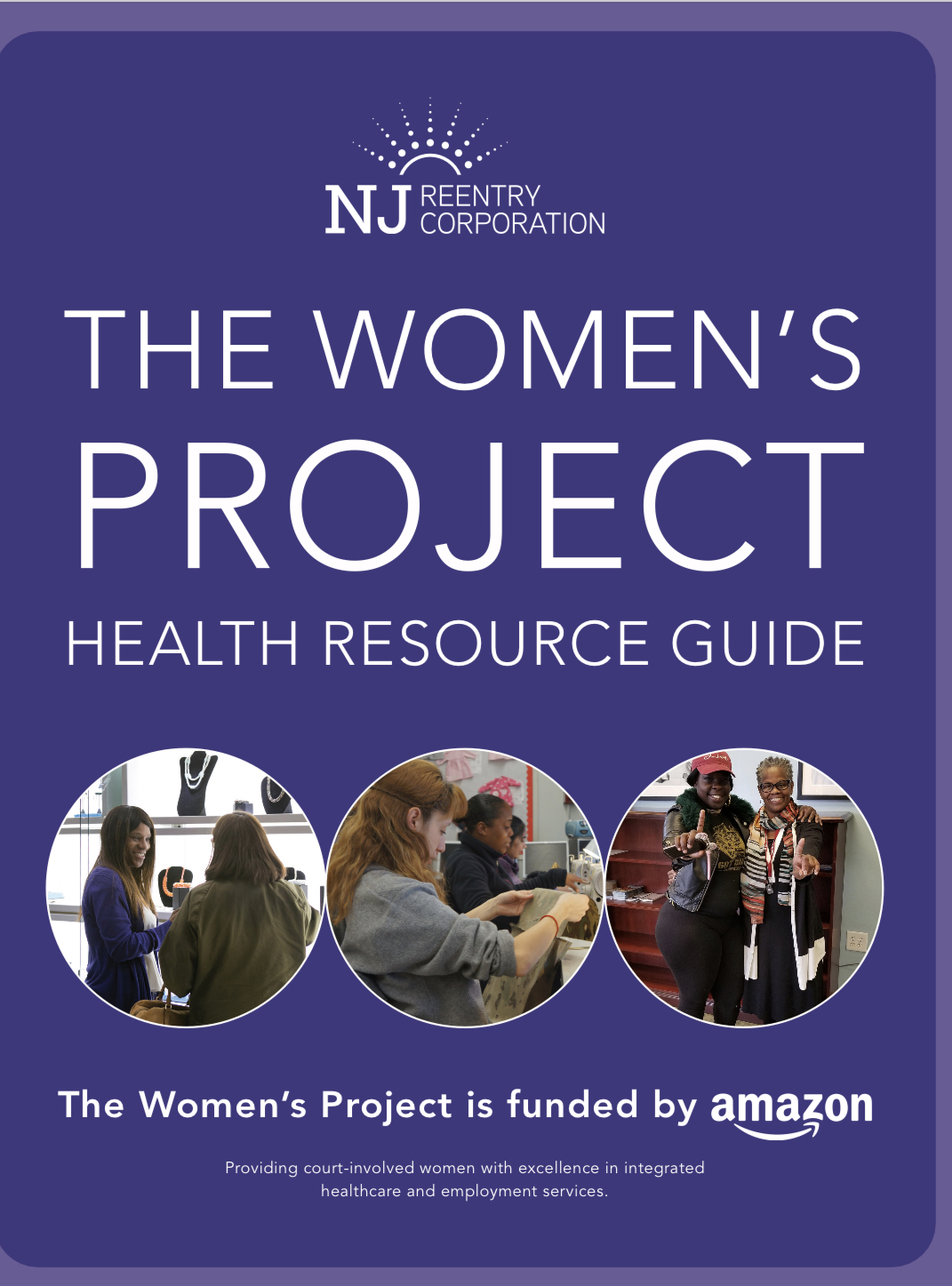 New Jersey Reentry Corporation The Women's Project Health Resource Guide