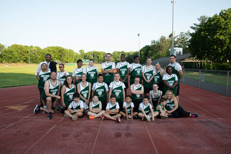 South Plainfield Special Athletes Track Team