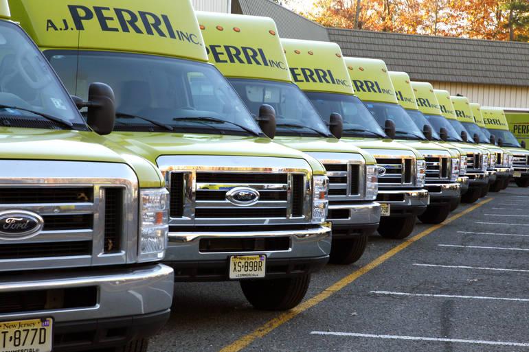A.J. Perri trucks