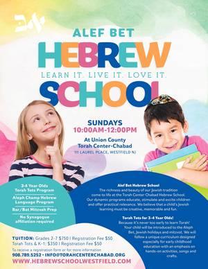 Hebrew School in Westfield