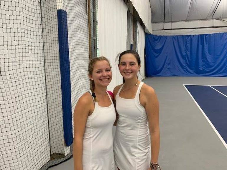 Chatham 1st Doubles of Berkson & Fidora Win Decisive Point for Chatham Girls Tennis in 3-2 State Sectional Semifinal Win