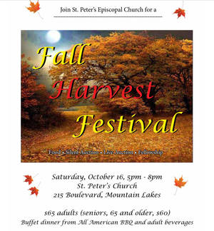 Fall Harvest Festival Auction Fundraiser at St. Peter's Church