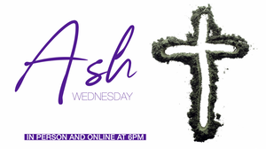 Community Congregational Church to Hold Ash Wednesday Observance