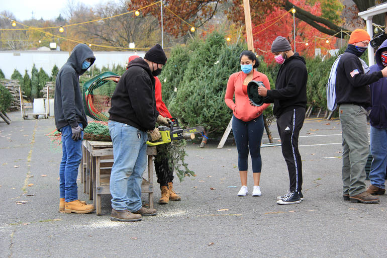 Hawthorne Fire Department Christmas Tree Sale Begins