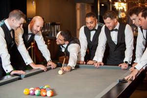 Grooms Receive VIP Treatment with The Vault at Livingston's Crystal Plaza