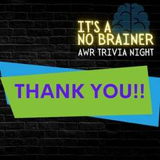 """""""It's a No-Brainer"""" Kahoot! Trivia Night hosted by AWR PTA"""