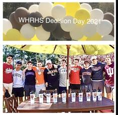 Decision Day at Watchung Hills: WHRHS Class of 2021