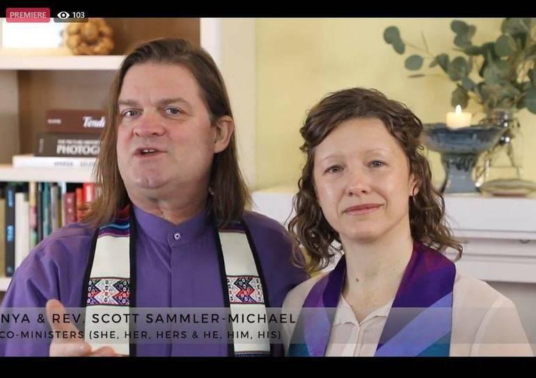 UUCM, UU Montclair, Revs. Scott and Anya Sammler-Michael,