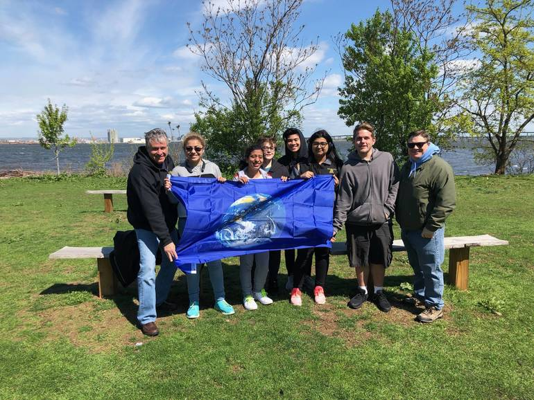 Hundreds Join Earth Day Effort to Clean Up Bayonne