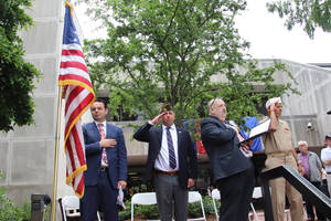 Hawthorne Memorial Day 2021 Recognized with Special Service and Guest Speaker Brian Bergen