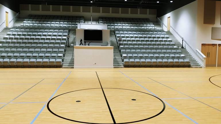 Gym and Auditorium
