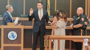 Bridgewater Township Swears in New Police Officer
