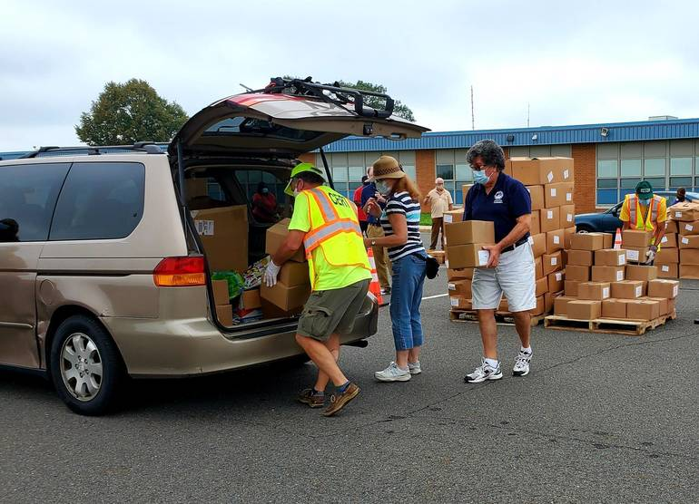 County, Food Bank of SJ Hosting Drive-Up Food Distribution Event