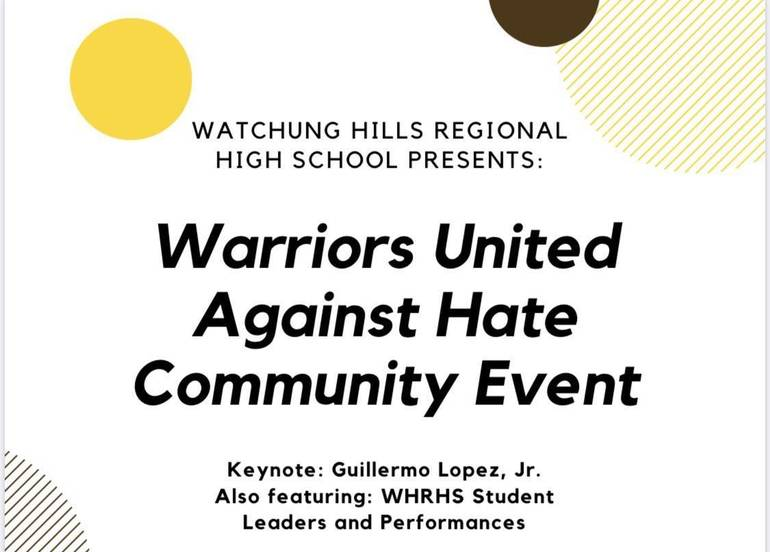 Watchung Hills to Host Warriors United Against Hate Community Event 0946A01A-6C08-4F8B-A450-955074C9EAD8.jpeg