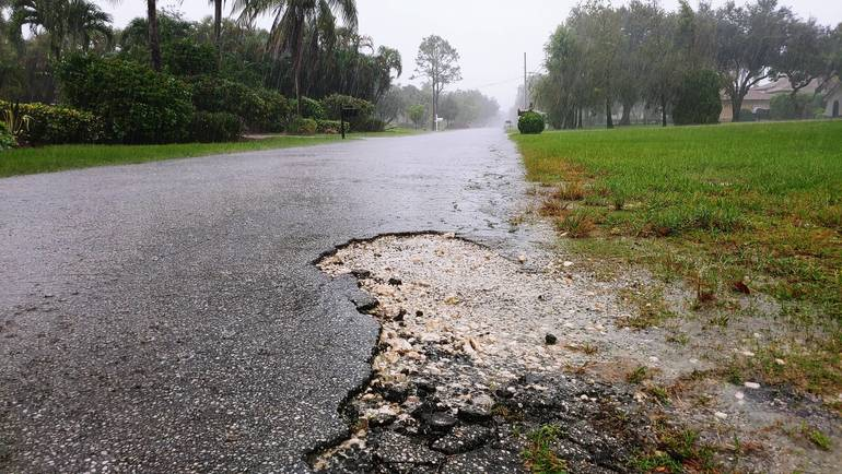 Roads of Pine Tree Estates