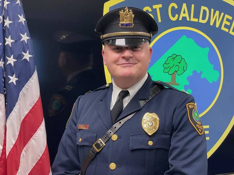 Shaun O'Dowd Promoted to Captain of West Caldwell Police Department