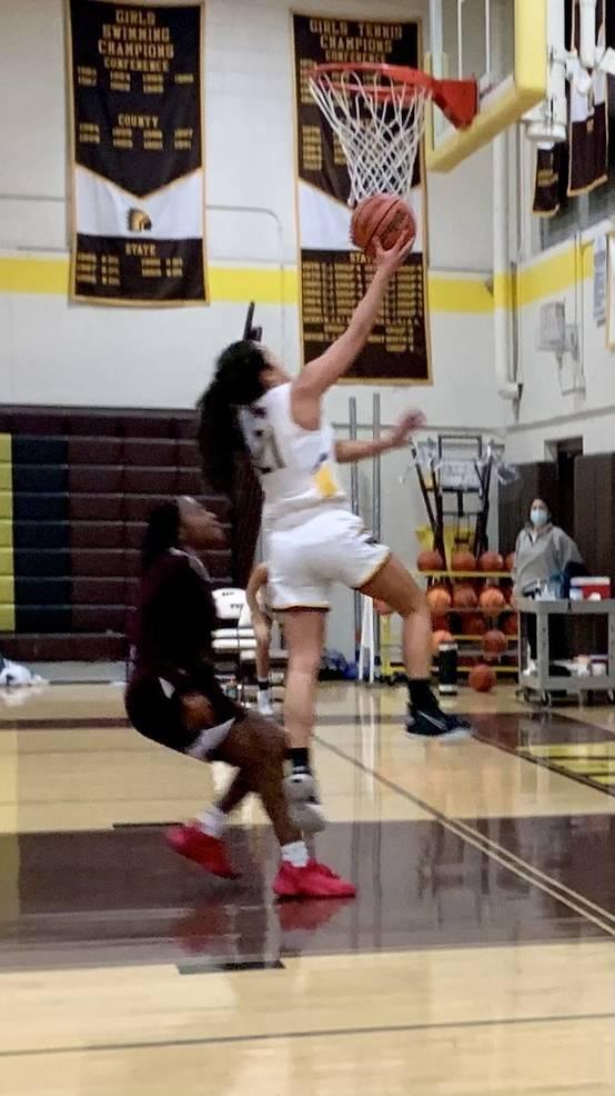 WHRHS Girls Basketball: Watchung Hills Tops Sinai Christian, 79-69