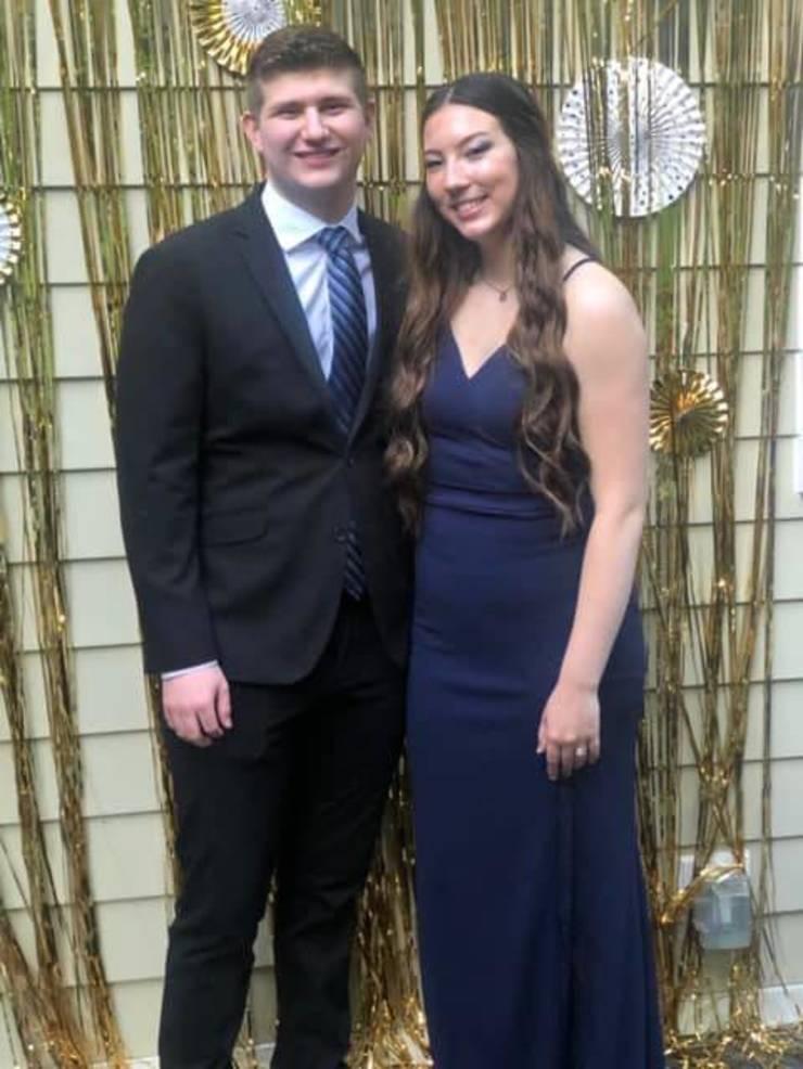 Aaron Rabkin and Madison Dawson
