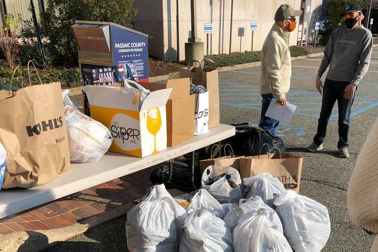 Hawthorne Pride Alliance's Second Collection Fills Vehicles with Donations of Clothes - and Even a Turkey - for Essex County-Based RAIN Foundation