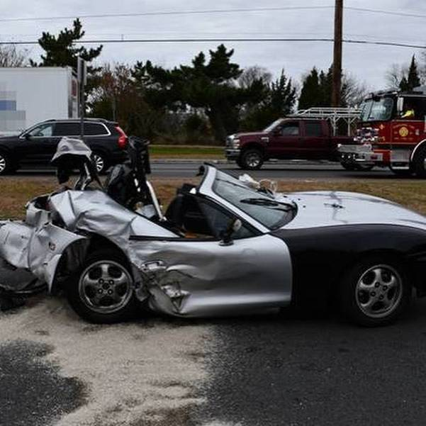 Two Injured in Black Friday Accident on Route 72 and Marsha in Stafford