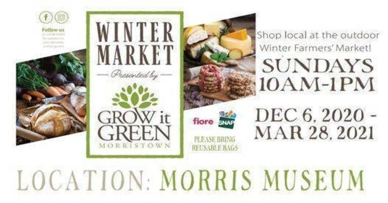 Morristown's Winter Farmers Market Set to Begin Dec. 6
