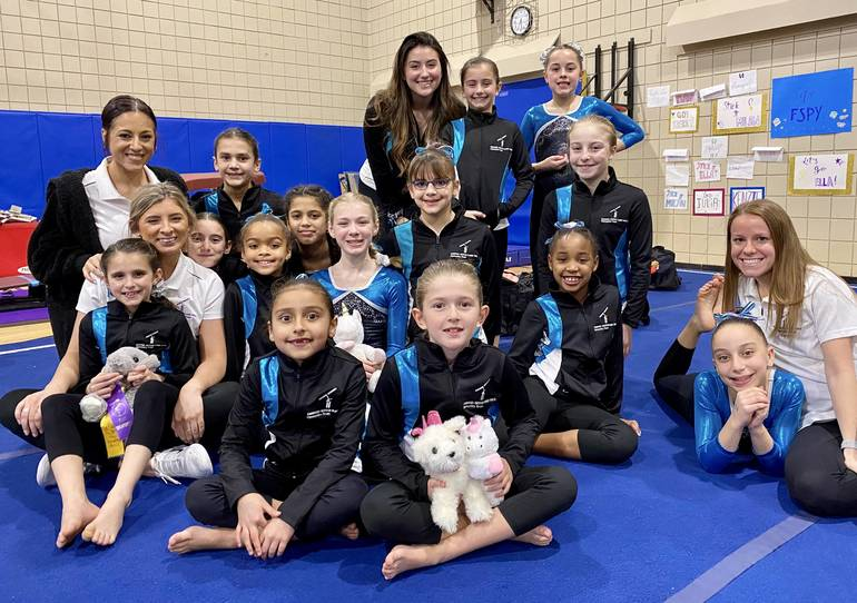 FSPY C Division Gymnasts