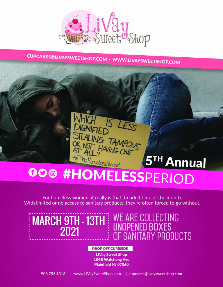 5th Annual #HomelessPeriod