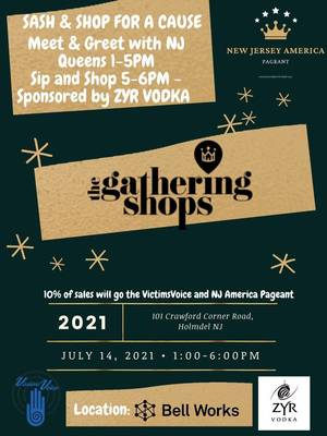 Meet NJ Pageant Title Holders at 'Shop and Sip for a Cause' at The Gathering Shops in Holmdel's Bell Works, July 14.