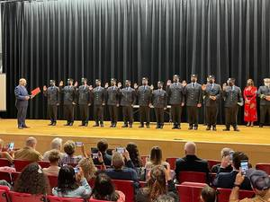 Elizabeth Welcomes Twelve New Firefighters After Swearing In On Thursday