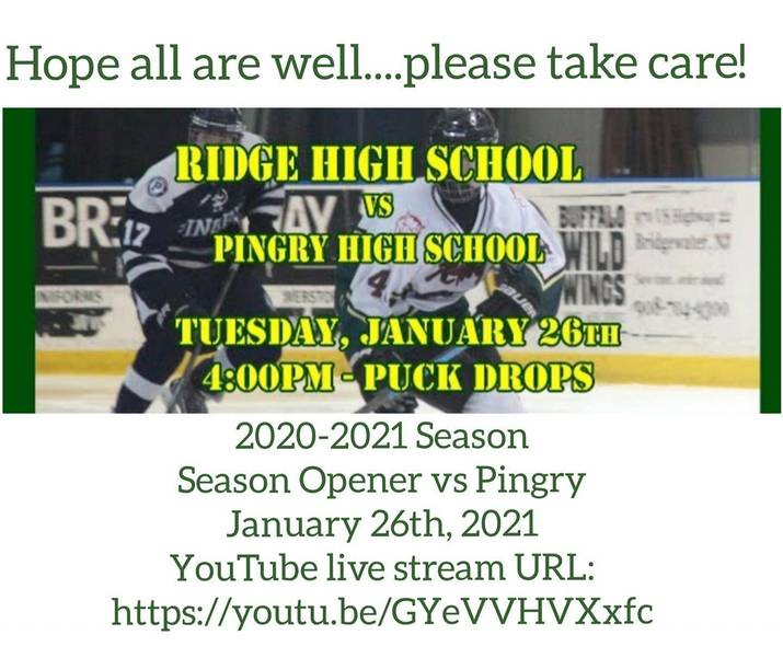 Ridge Ice Hockey Team's Start to Season is Delayed by COVID Issues