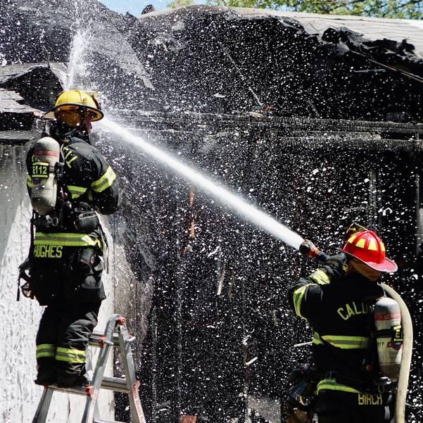 Caldwell Fire Department Battles Reignited Blaze; Burn Permits Halted