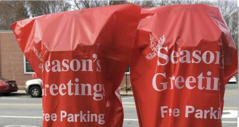 Free Metered Parking in Downtown Hackensack Begins on Black Friday Thru Christmas