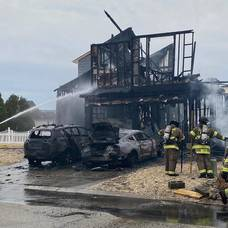 No Injuries in Saturday's Structure Fire in Village Harbor Section of Stafford