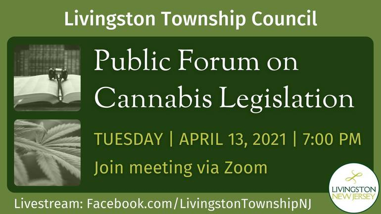 Livingston Township to Hold Public Forum on Cannabis Legislation Tuesday