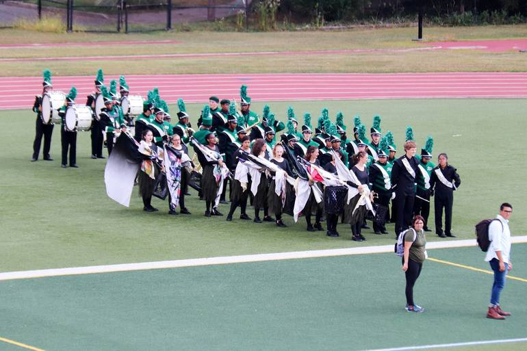 S.P.H.S. 2019 Marching Band Competition This Sunday Oct. 6 at Jost Field