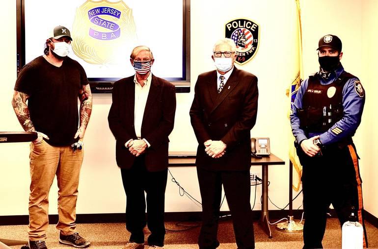 Warren's Dealaman and Sordillo Honored with Lifetime Memberships in the Warren PBA.