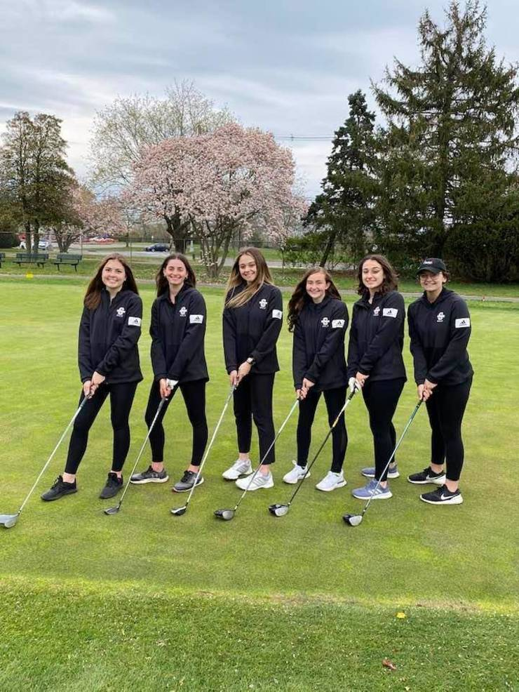 Southern Girls Golfers Win Season Opener over Toms River East with New Familiar Coach