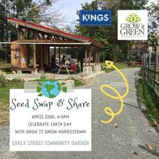 Celebrate Earth Day with Grow It Green's Seed Swap