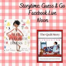 "Macculloch Hall Presents ""Storytime: Guess & Go Facebook Live"""
