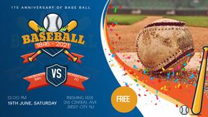 Celebrating 175 Years of Baseball - Saturday, June 19 @ Noon