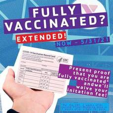 Madison Area YMCA Waives Initiation Fee and Offering 3 Guest passes for All Fully COVID-19 Vaccinated People