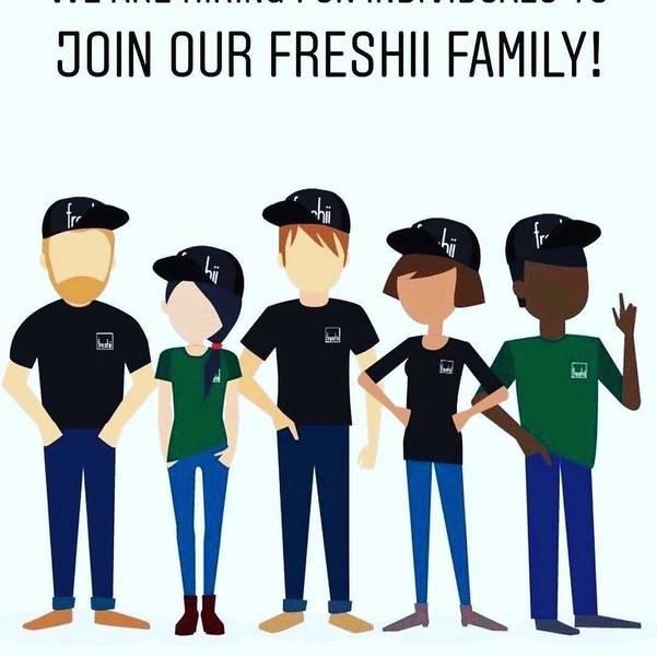Now Hiring! Freshii Morris Plains is Looking for Team Members