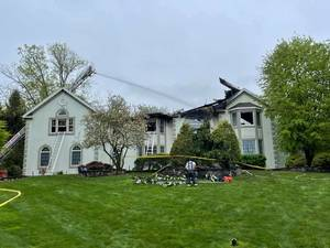 Coyle Trail House Uninhabitable Following Mother's Day Structure Fire
