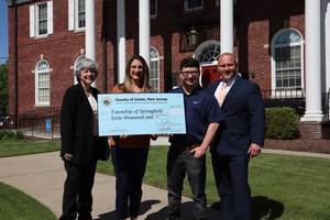Springfield Receives its $60K Infrastructure Grant from Union County