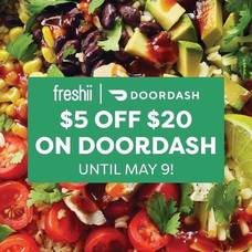 Celebrate Mom with $5 off $20 on Door Dash