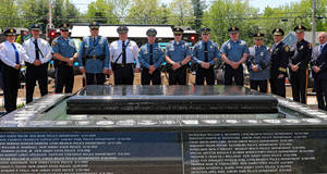MONMOUTH COUNTY MEMORIAL HONORS OUR LAW ENFORCEMENT OFFICERS WHO MADE THE ULTIMATE SACRIFICE.